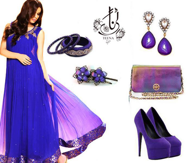Blue frock Designs collection 2017