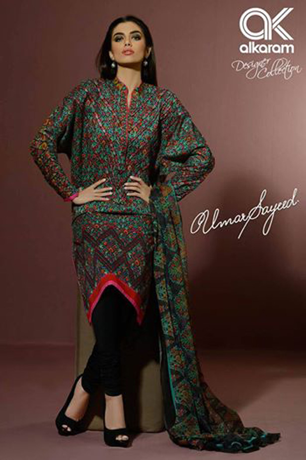 Alkaram Festival 2017 Eid dresses by umar sayeed for women