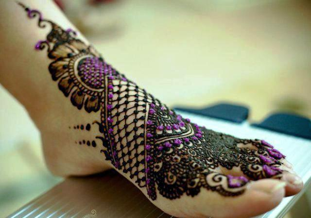 Beautiful Arabic Eid Mehndi Designs 2107