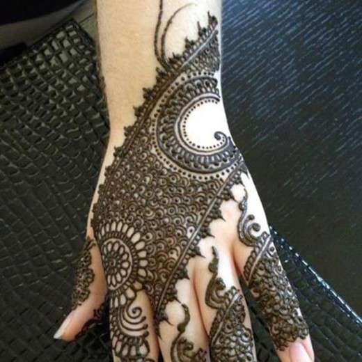 New Arabic Mehndi Designs 2107