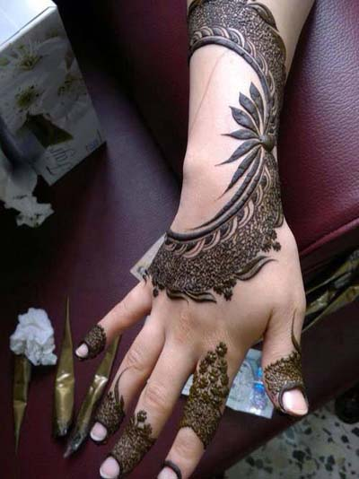 Latest Arabic Henna Designs