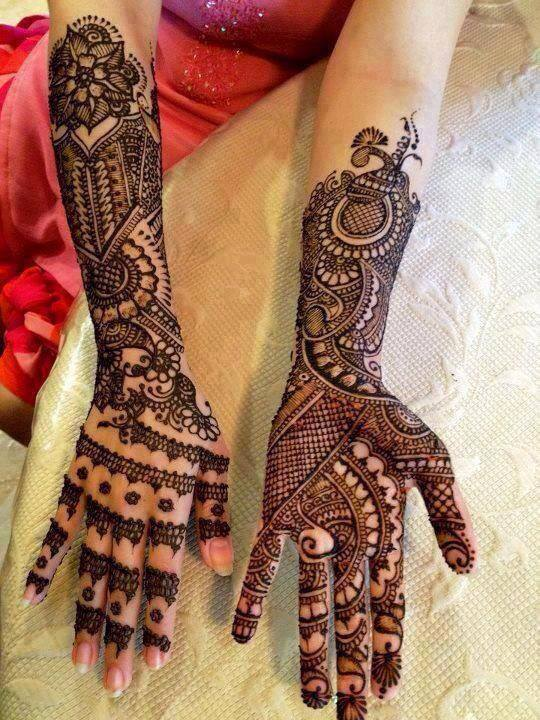 Latest Arabic Mehndi styles