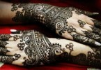Latest Arabic Eid Mehndi Designs 2017 for Women