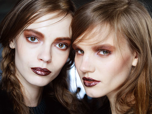 latest Holiday Makeup Trends from New York Fashion Week