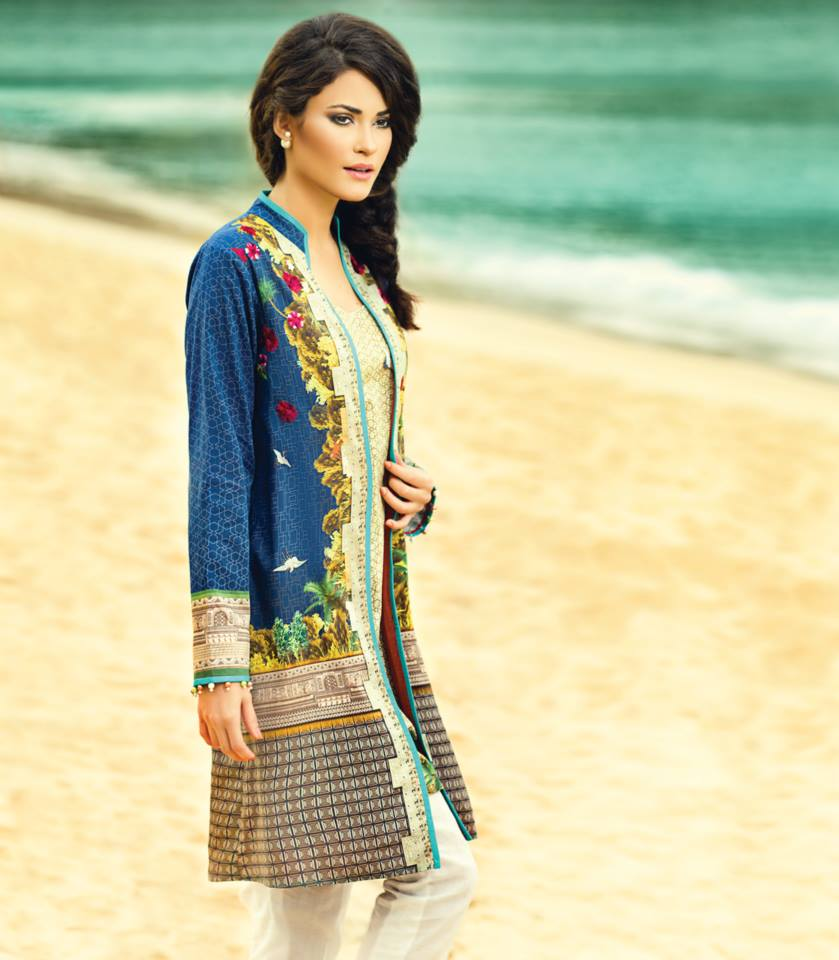 Latest Alkaram kurti Designs 2018