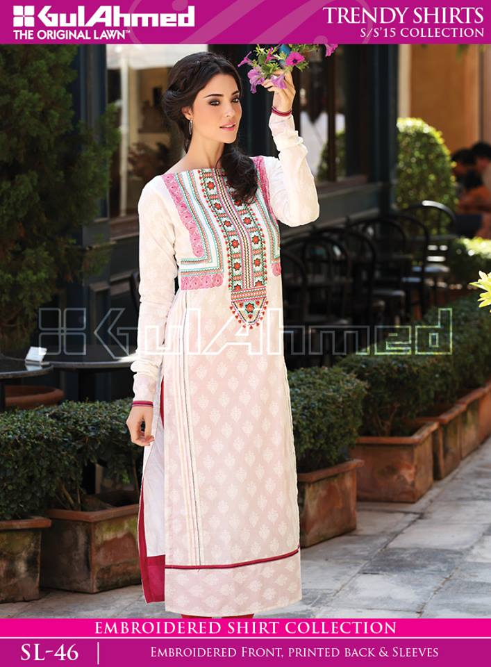 Gulahmad Ladies Kurta Trends 2018