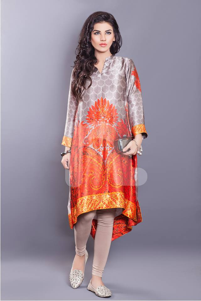 Nishat Summer Kurta Designs