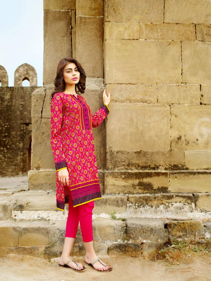 Khaadi kurti Trends 2018 for Women