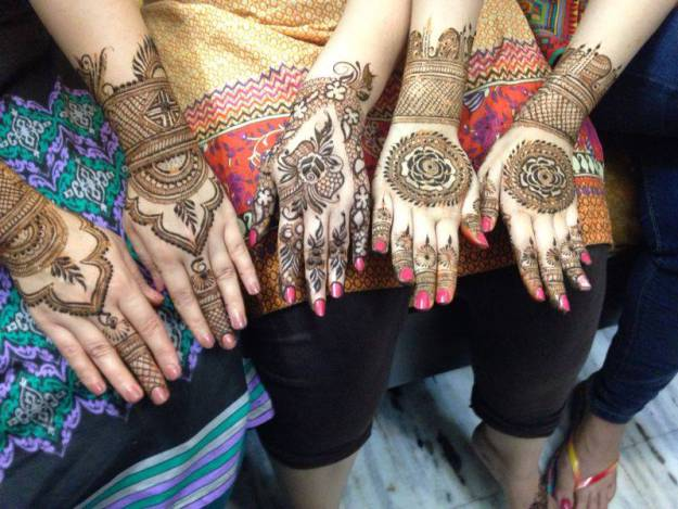 Most Inspirational Eid Mehndi Designs 2015 for Women