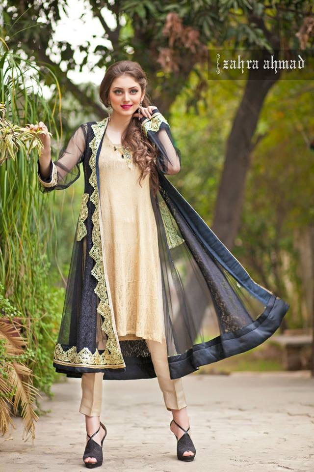 Latest Pakistani Party Dresses 2017 | Designer Dresses for Women ...