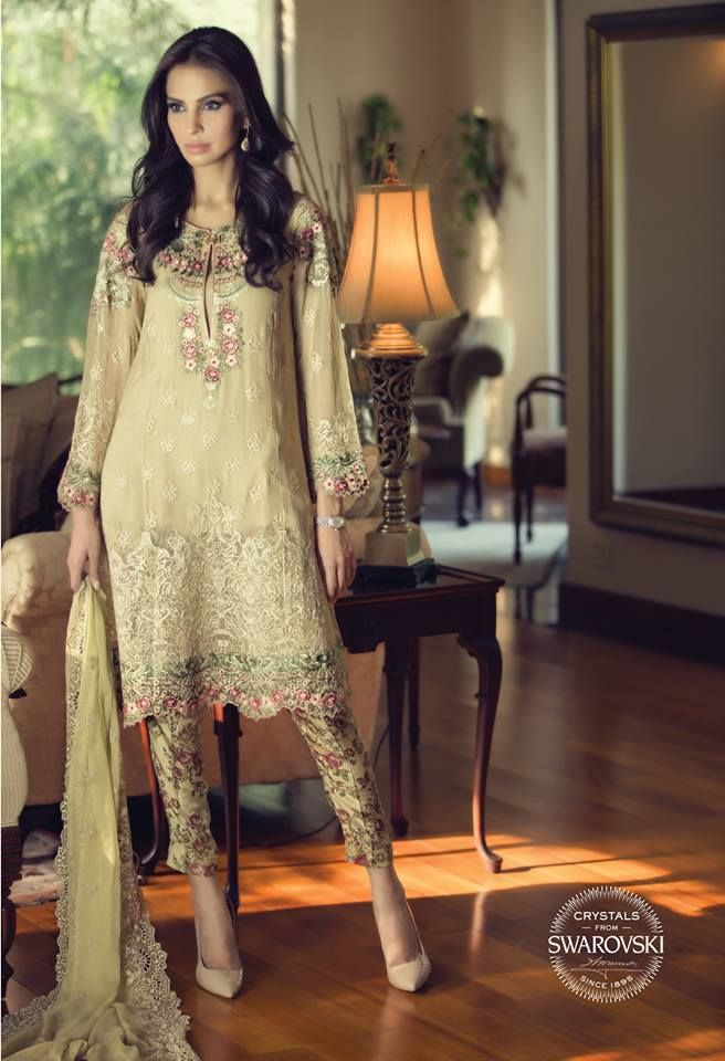 Latest Pakistani Party Dresses 2017 | Designer Dresses for Women
