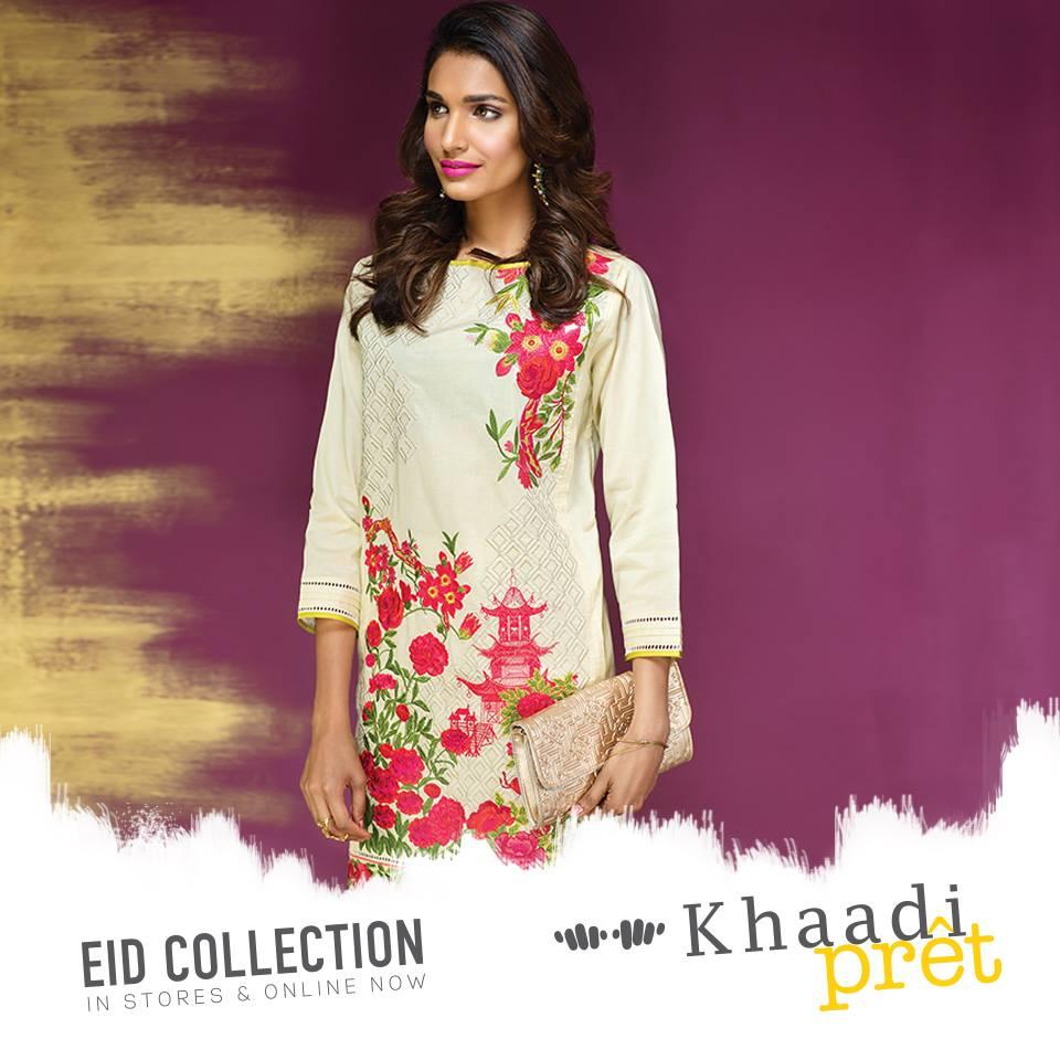 khaadi pret eid collection