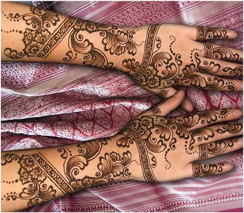 latest eid mehndi design for full arms