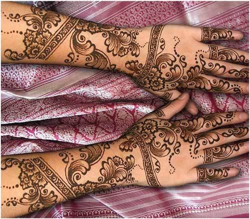 latest eid mehndi design for full arms