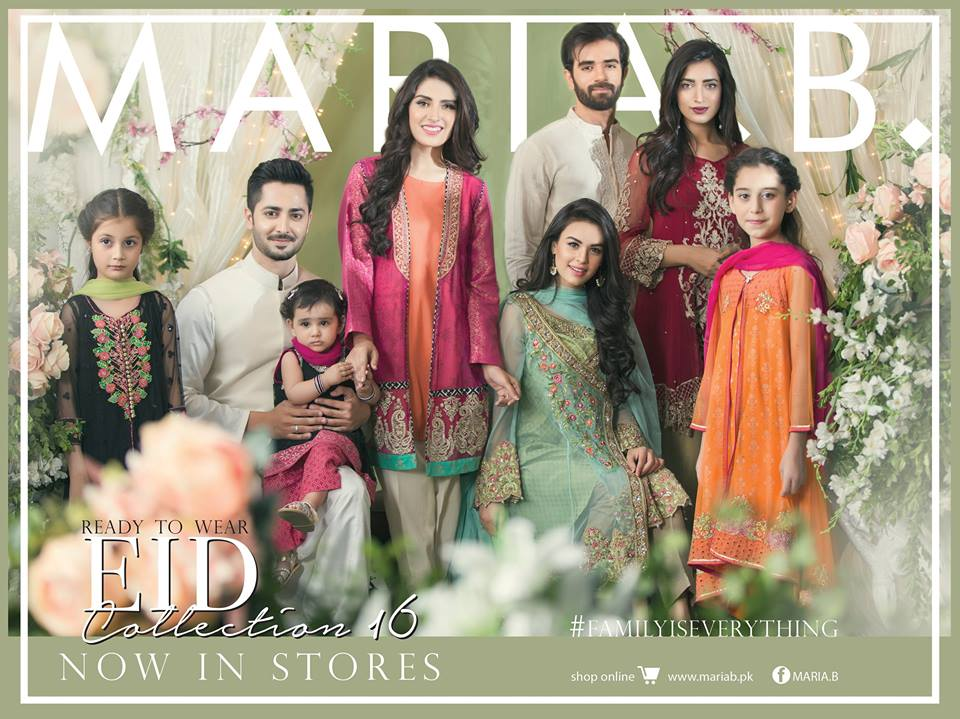 ade79c3246 Latest Pakistani EID Dress Collections 2019 for Girls & Women ...