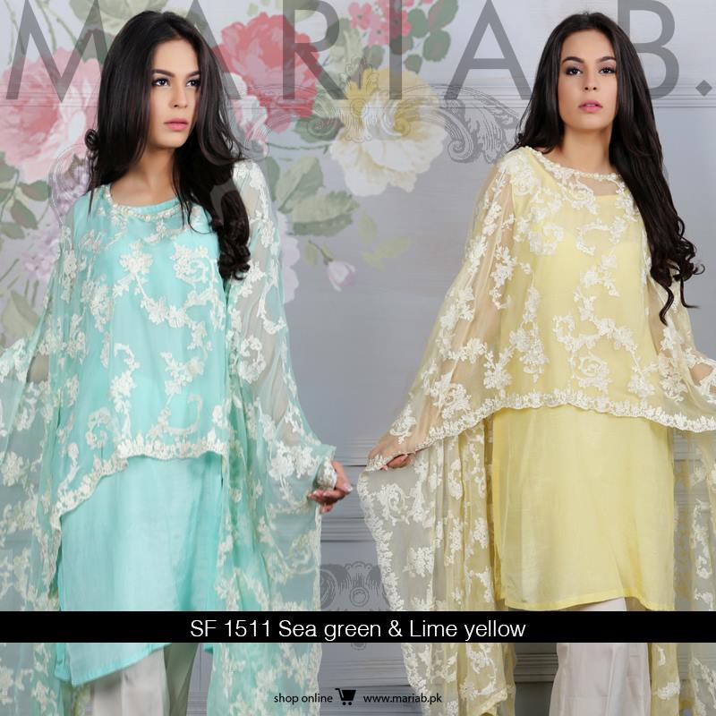 maria b evening wear dresses 2019