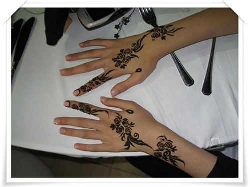 simple eid mehndi design