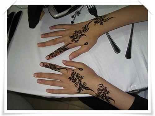 simple eid mehndi design