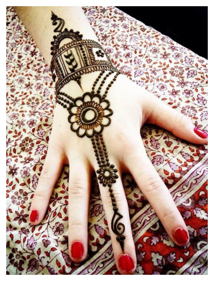 simple mehndi designs for beginners