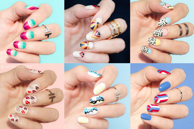 nail art trends with tutorials 2017