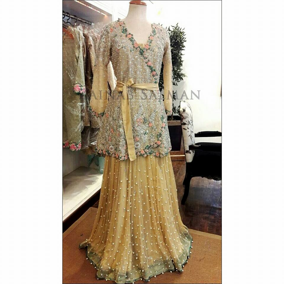 Latest Short Frock Designs 2018 For Girl In Pakistan