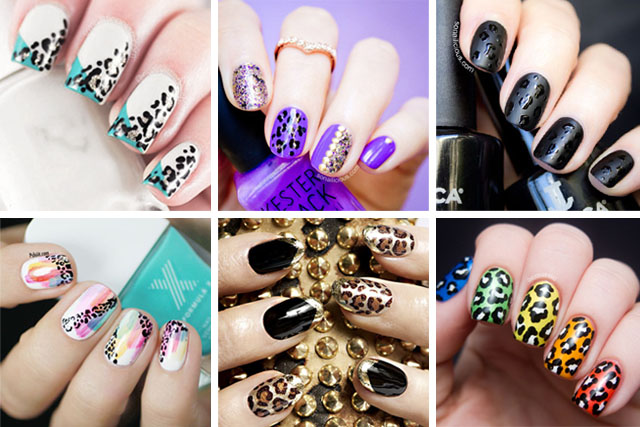 best leopard nail designs 2017 In Pakistan