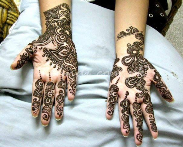 Mehndi Designs Latest New Style : Latest arabic mehndi designs collection for women styleglow
