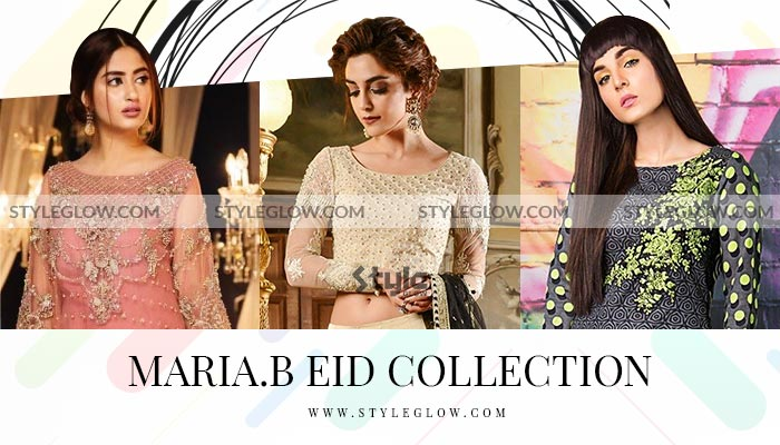 Latest Maria B EID Collection 2020 Dresses and New Arrivals