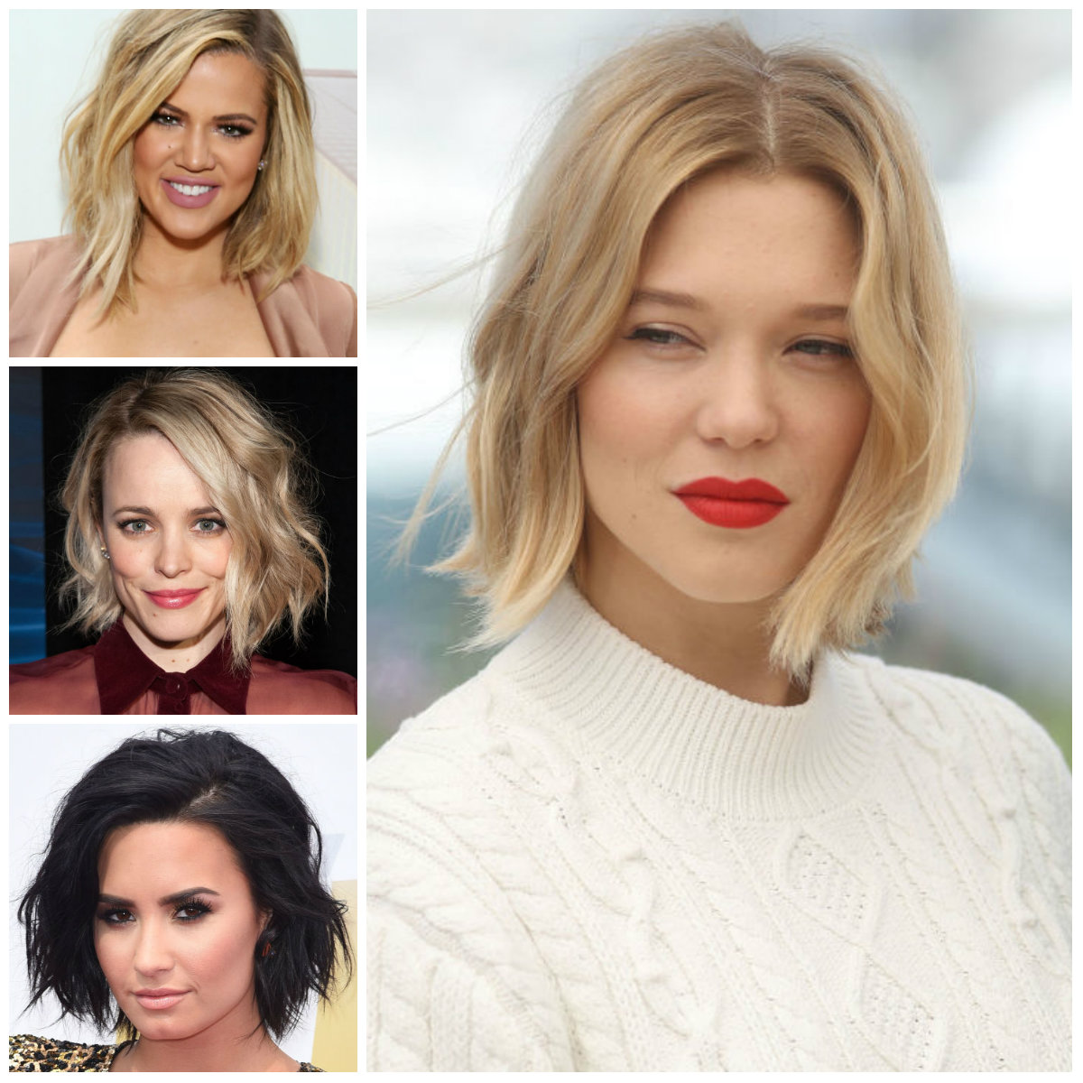 Celebrity Bob haircut for spring summer 2017
