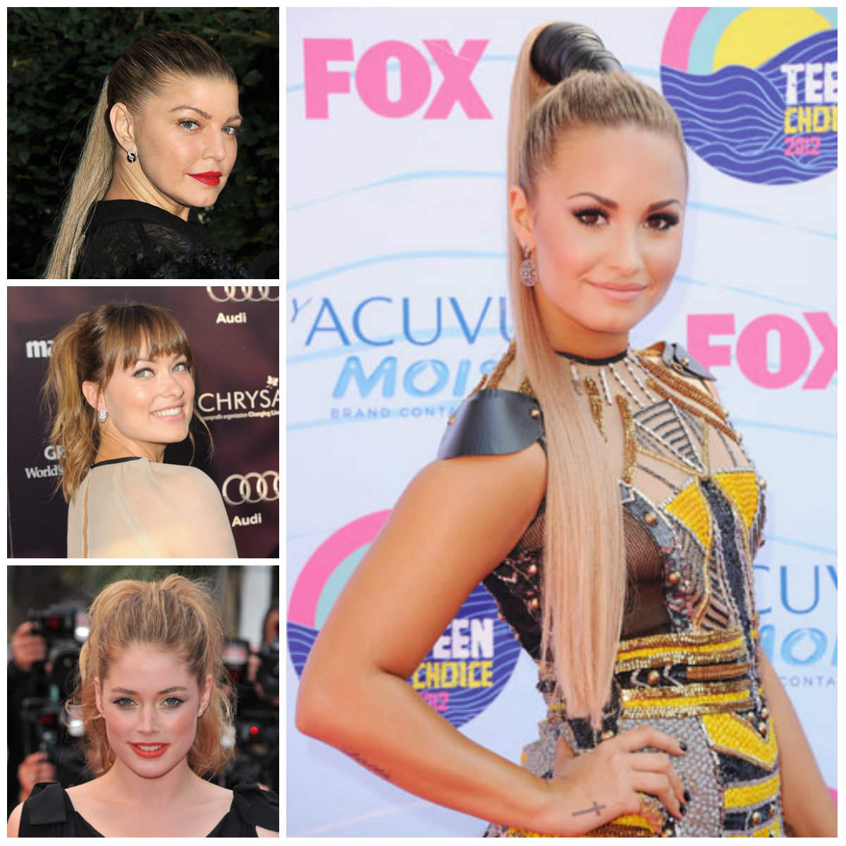 stylish high pony tails for spring summer 2017