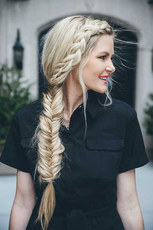 stylish Fish Braids for spring summer 2017