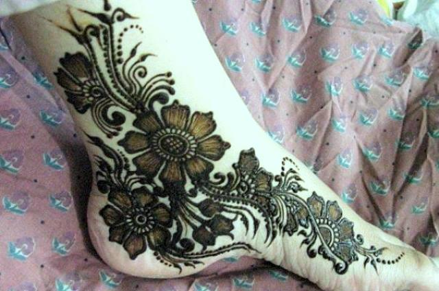 foot  arabic mehndi designs 2017
