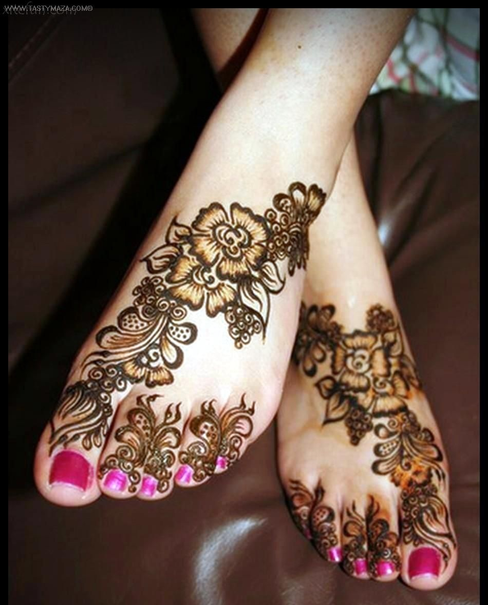 new style arabic mehndi designs 2017 for feet