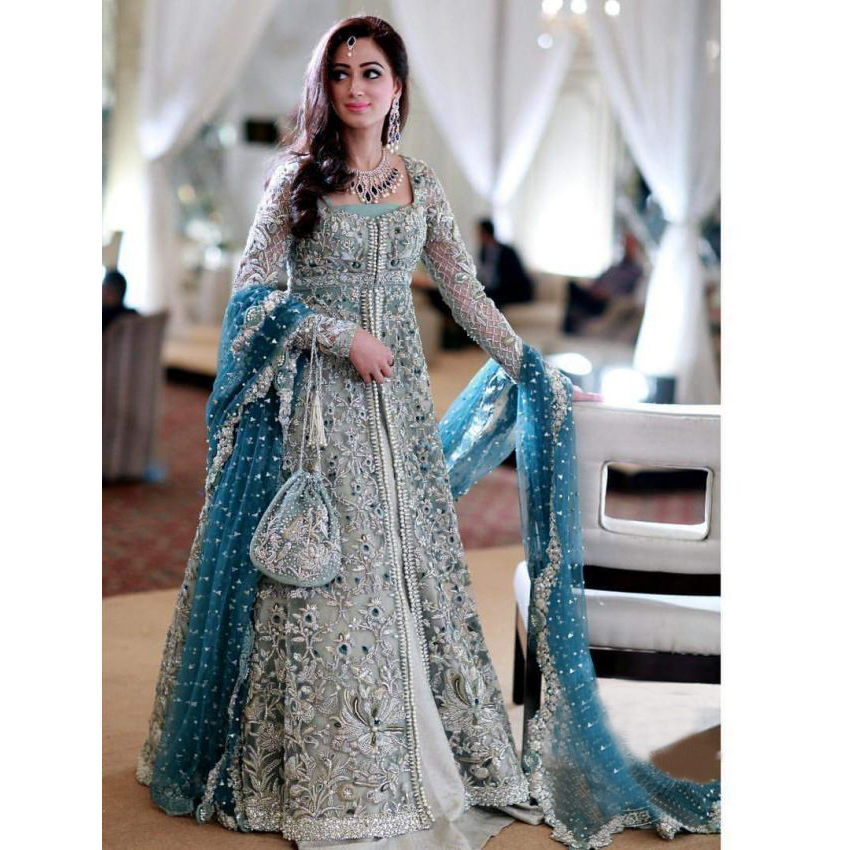71fb49be813 Latest Pakistani Bridal Dresses 2019 For Girls - StyleGlow.com