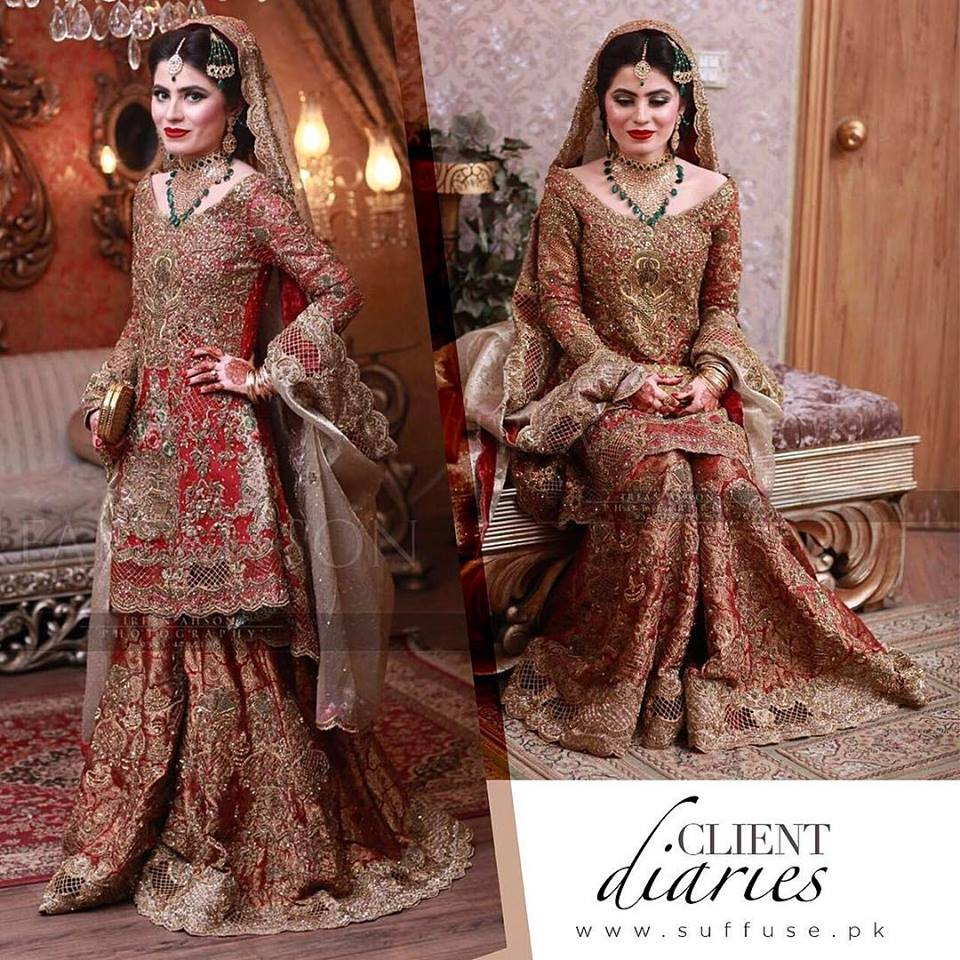3f7c426a0e Latest Pakistani Bridal Dresses 2019 For Girls - StyleGlow.com