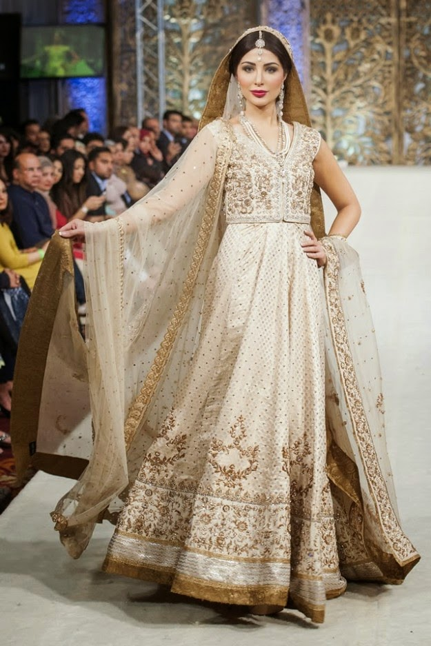 Pakistani Wedding Dresses 2017 For Walima