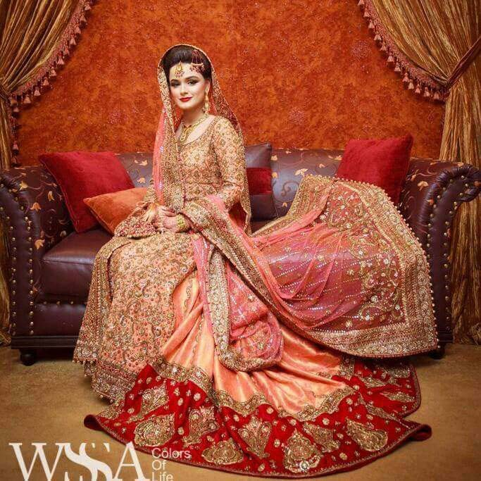 Pakistani Wedding Dresses 2017 For Barat