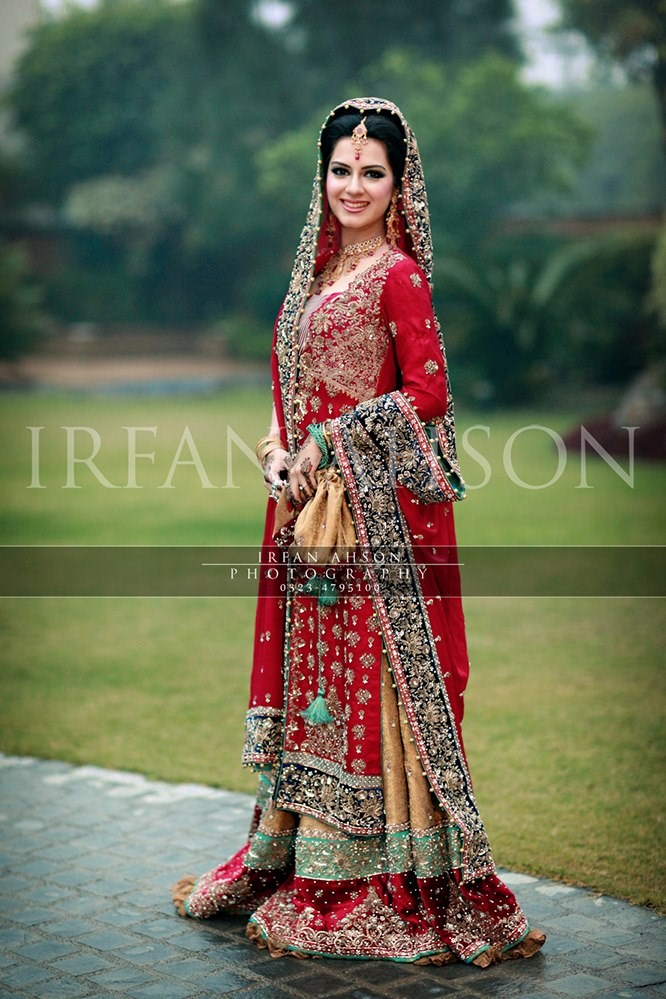 Latest Pakistani Bridal Dresses 2018 For Girls Styleglow Com