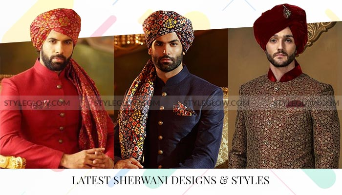 Latest Sherwani Designs 2021 that You Must Try