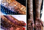 Latest Indian Mehndi Designs 2017 for hands, arms and feet