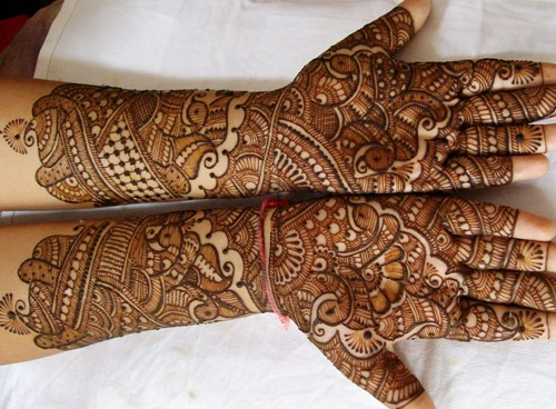 Latest Indian Mehndi Designs 2018 for hands and arms
