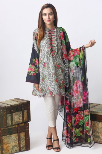 71dabeb50e Pakistani Unstitched Lawn Suits & Fabric 2019 for Women - StyleGlow.com