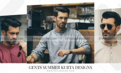 Gent Summer Kurta Designs