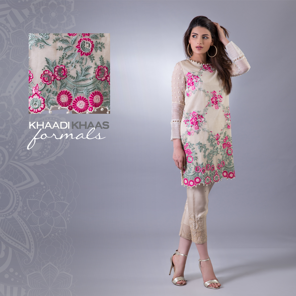 Latest Eid Dresses 2017 With Embroidery