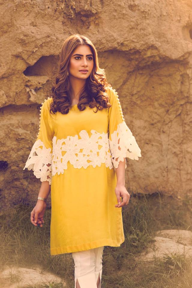 Latest Eid Dresses 2017 For Girls In Pakistan