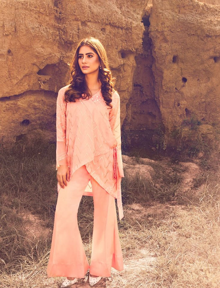 Latest Eid Dresses 2017 With Gharara Pant
