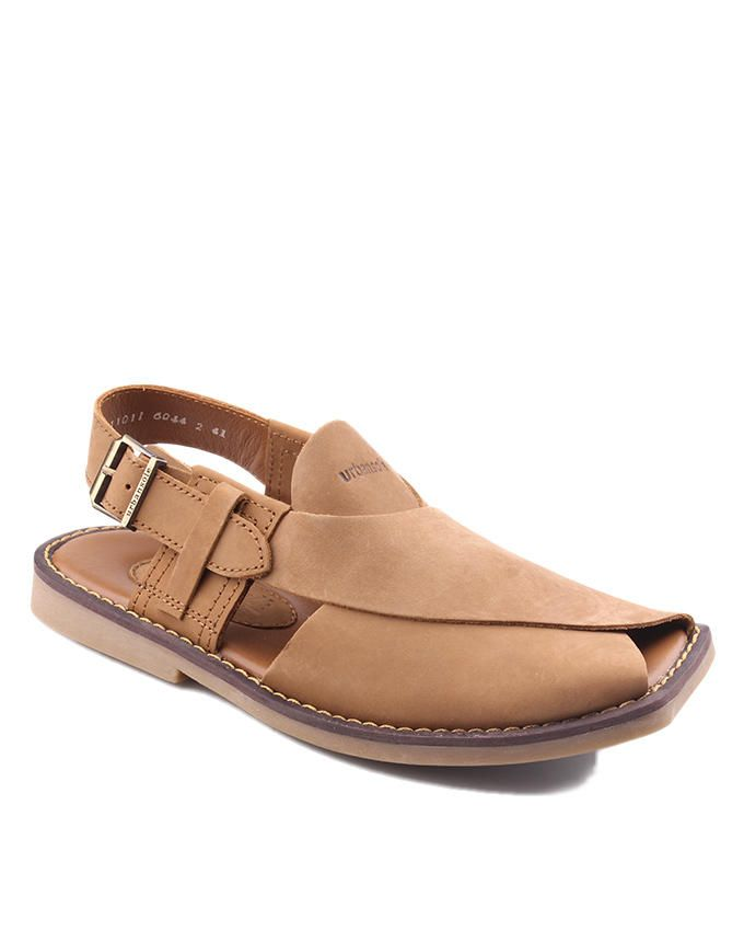 Latest Men Summer Sandals 2017 In Pakistan In Brown Color