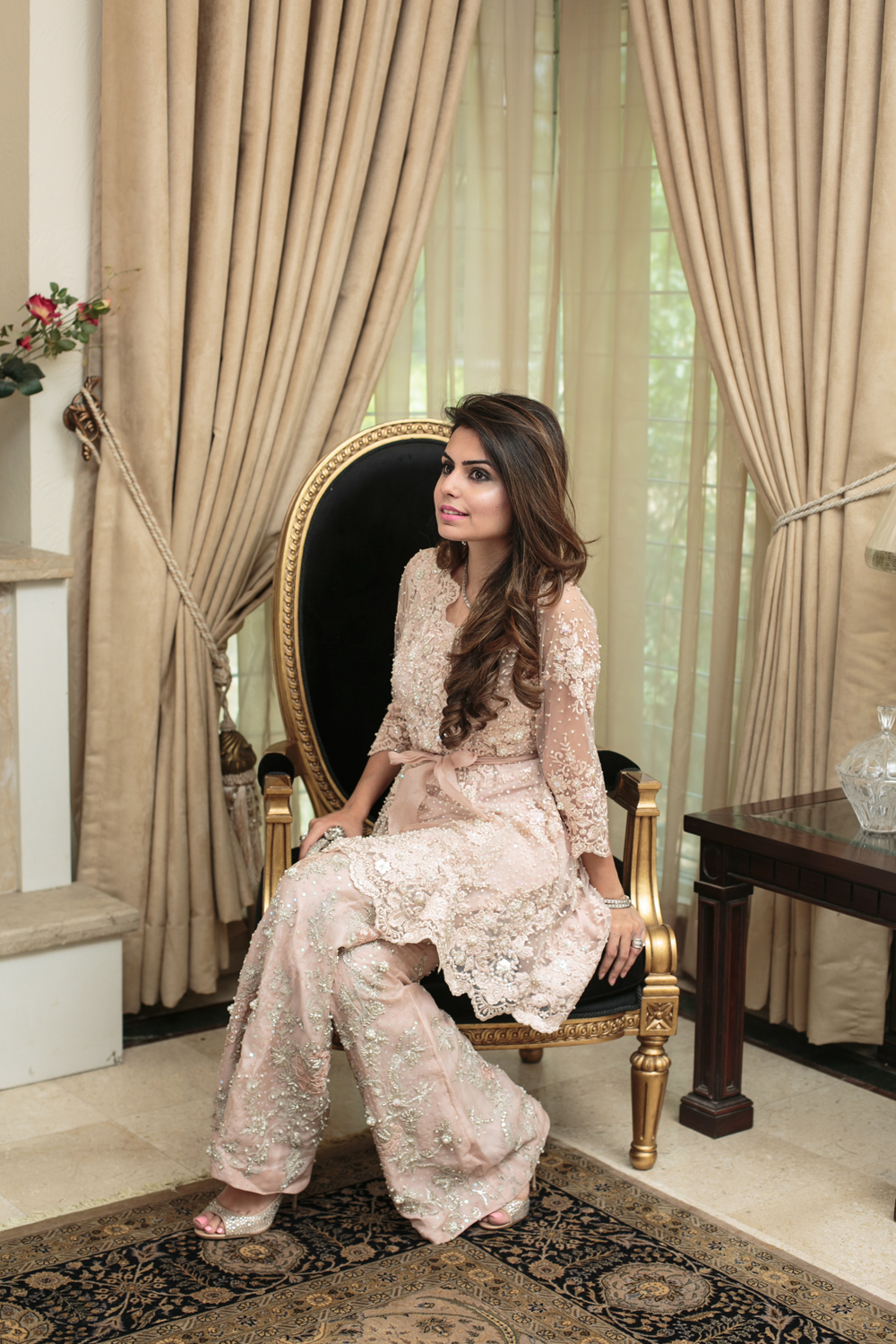Stylish Pakistani Party Wear Dresses 2017 For Girls In Peplum Style
