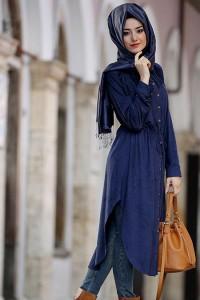 Blue Abaya Design 2018