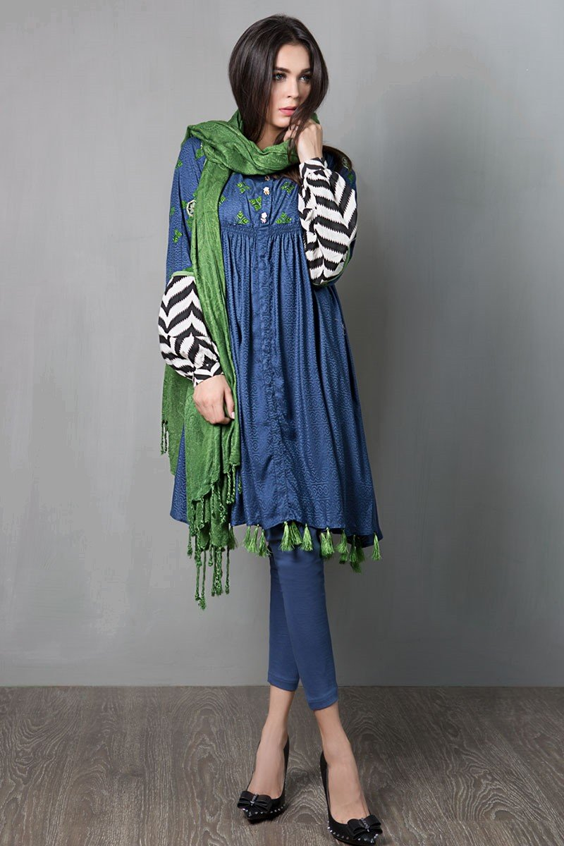 bb279fc553554e New Pakistani Party Wear Dresses Frock Collection 2019 - StyleGlow.com